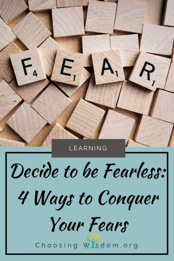 Decide to be Fearless