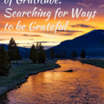 An Attitude of Gratitude - Searching for Ways to be Grateful 1
