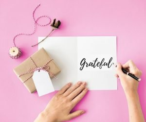 Searching for Ways to Be Grateful