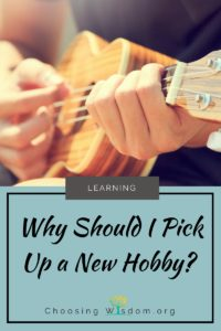 Why Should I Pick Up a New Hobby? 2