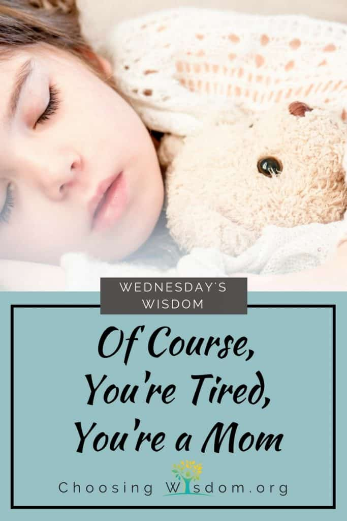 Of Course You're Tired, You're a Mom 2