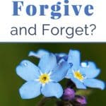 Can you Forgive without Forgetting? 3