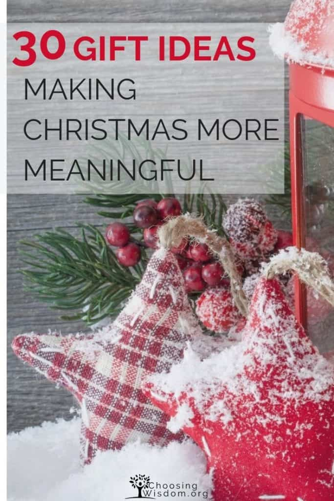 Making Christmas More Meaningful - red Christmas lantern
