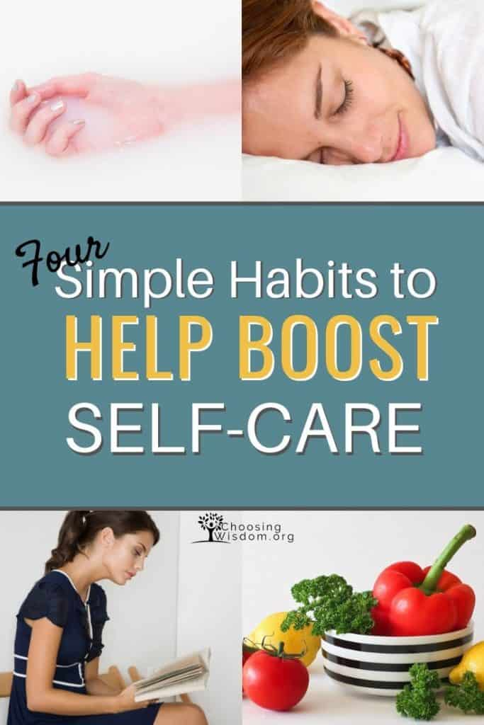 Four simple habits to help boost self-care