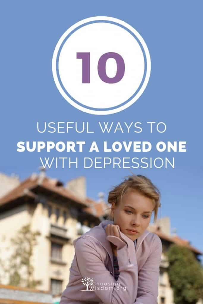 Support loved one with depression