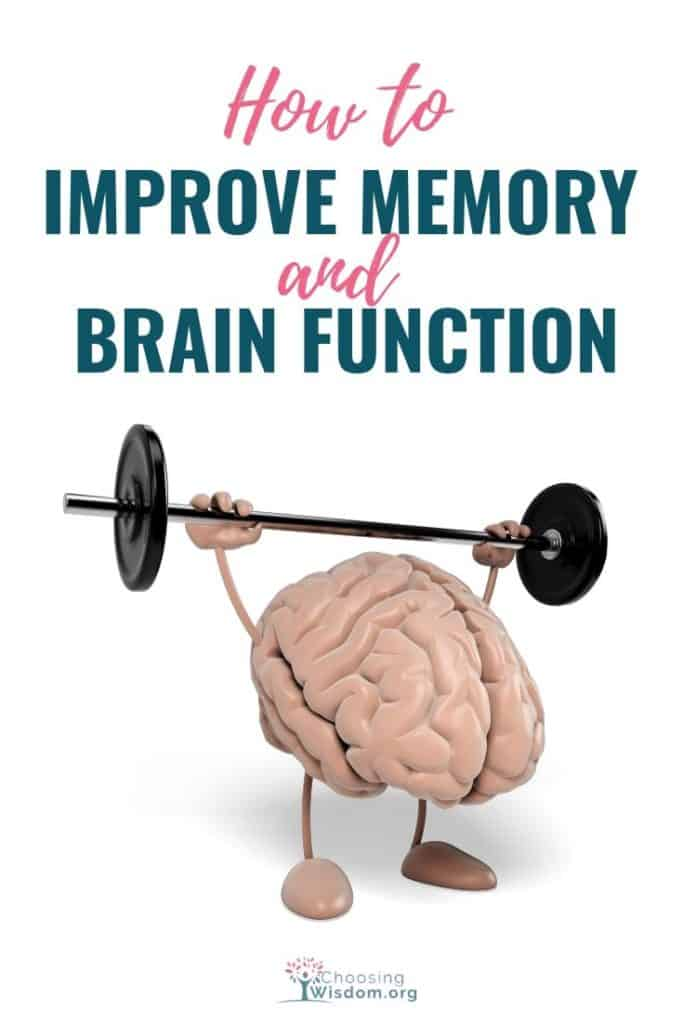 How to improve brain function and memory