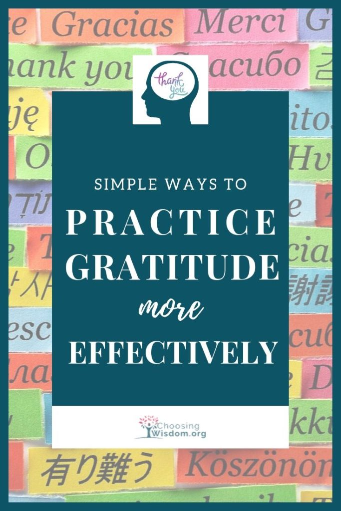 simple ways to practice gratitude more effectively