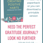 Creating Positive Habits Journal 2