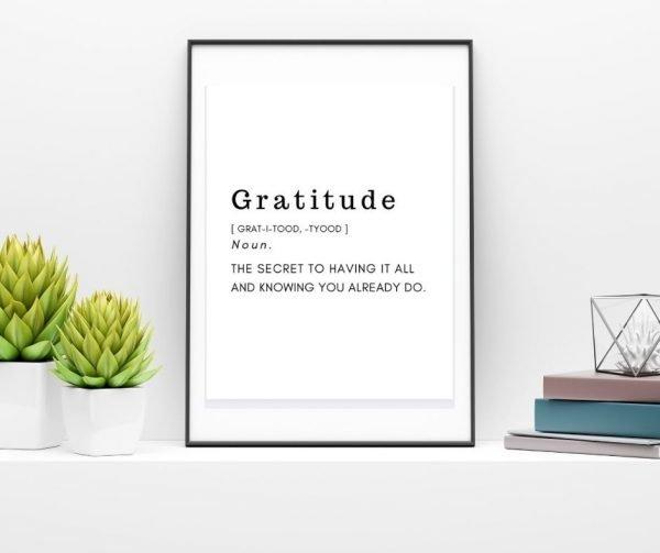 Gratitude Printable Quotes 3