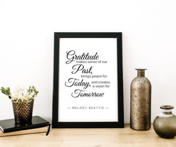 Gratitude Printable Quotes 1