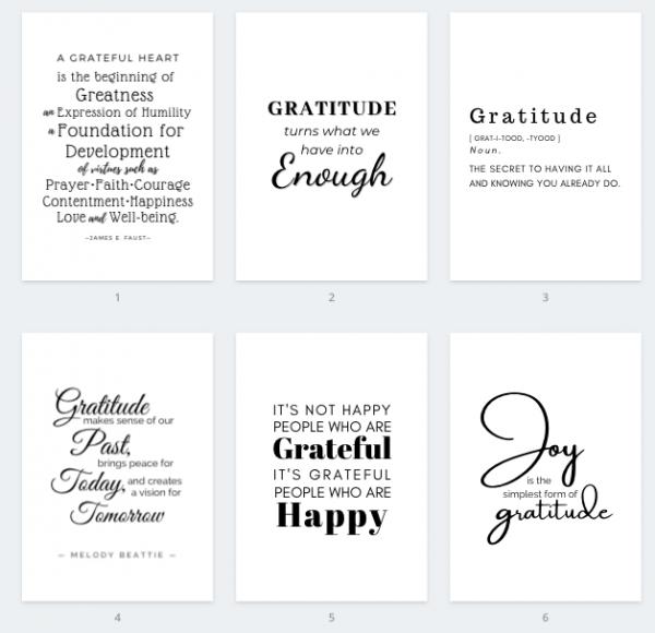 Gratitude Printable Quotes 5