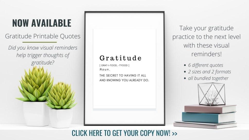 Gratitude Printable Quote 1