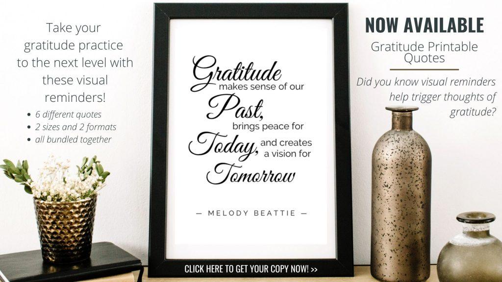Gratitude Printable Quote 3