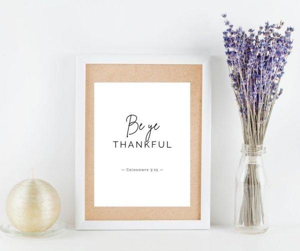 Gratitude Scripture Printables 3