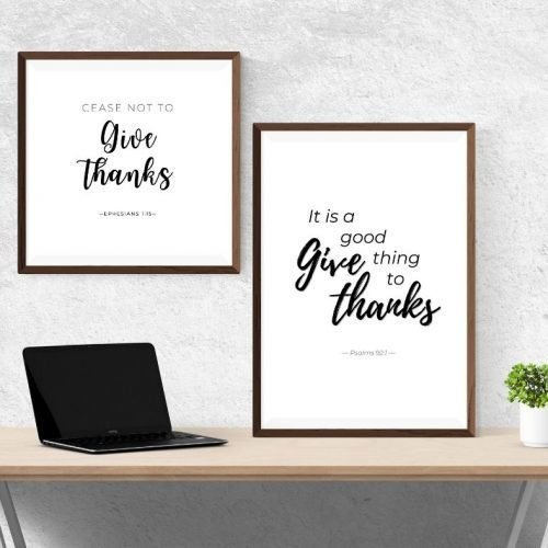 Gratitude Scripture Printable