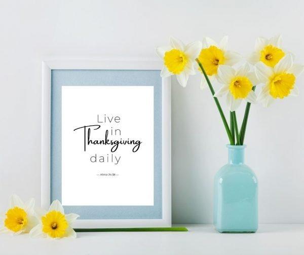 Gratitude Scripture Printables 2