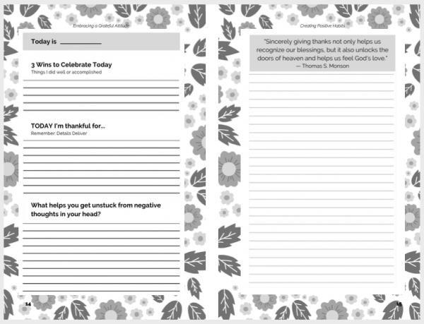Creating Positive Habits Journal - Spiral Bound 2