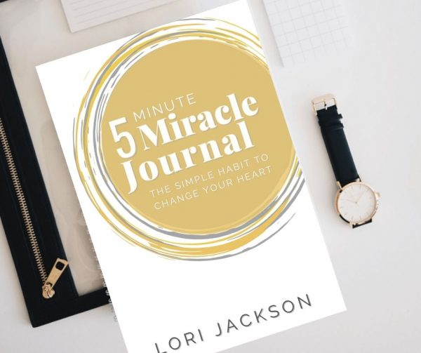 5 minute miracle journal