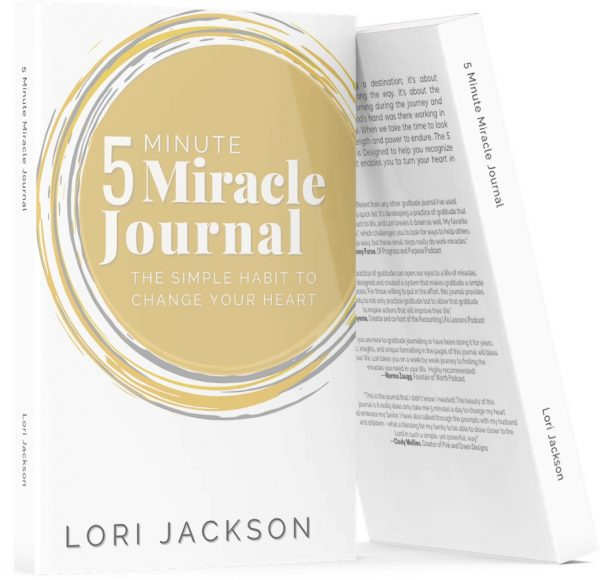 5 minute Miracle Journa