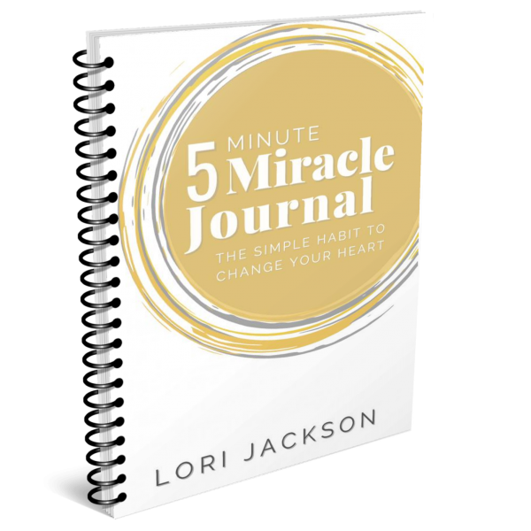 5 Minute Miracle Journal Spiral