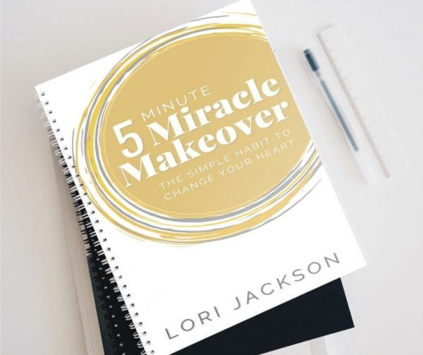 5 Minute Miracle Journal spiral bound